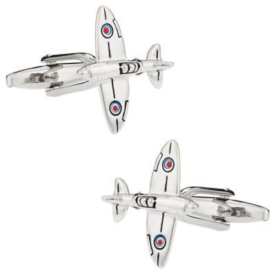 Classic Spitfire Plane Cufflinks