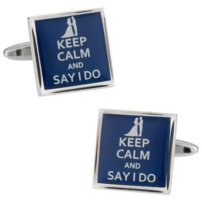 Say I Do Cufflinks