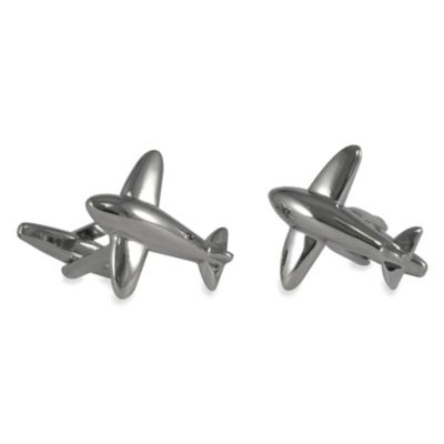 Retro Airplane Cufflinks