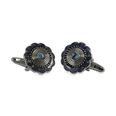 Blue Art Cufflinks