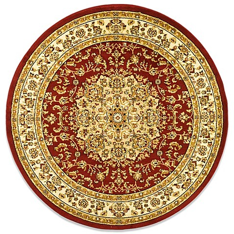 Safavieh Lyndhurst Collection 5-Foot 3-Inch Medallion Round Rug