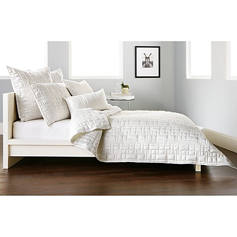 Dkny City Line Quilt In Ivory Bed Bath Amp Beyond