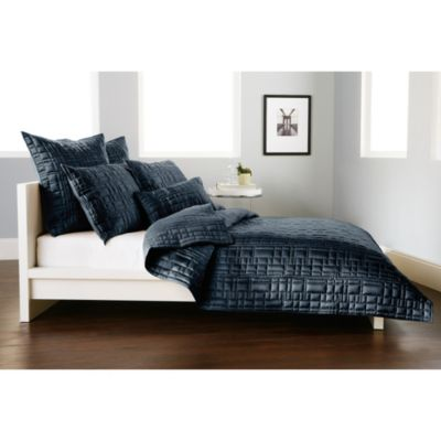 DKNY City Line Standard Pillow Sham in Midnight