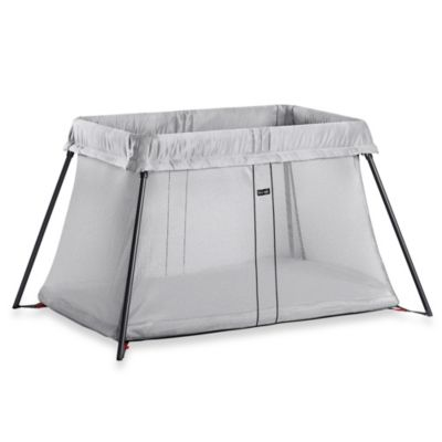 BABYBJORN® Travel Crib Light in Silver