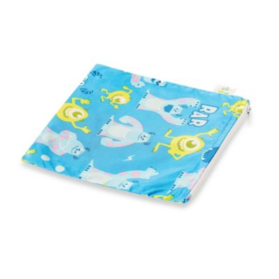 Bumkins® Disney Baby® Monsters Inc. Large Reusable Single Snack Bag in Blue