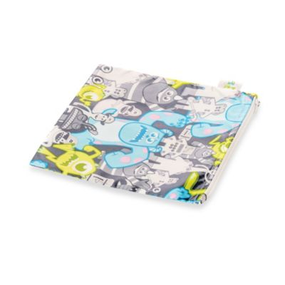 Bumkins® Disney Baby® Monsters Inc. Large Reusable Single Snack Bag in Grey