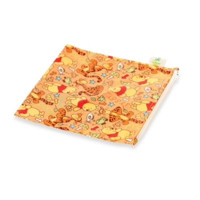 Bumkins® Disney® Winnie the Pooh© Large Reusable Single Snack Bag in Orange