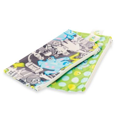 Bumkins® Disney Baby® Monsters Inc. Small Reusable Snack Bag 2-Pack