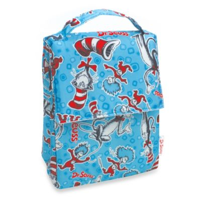 Cat in the Hat Blue Lunch Bag