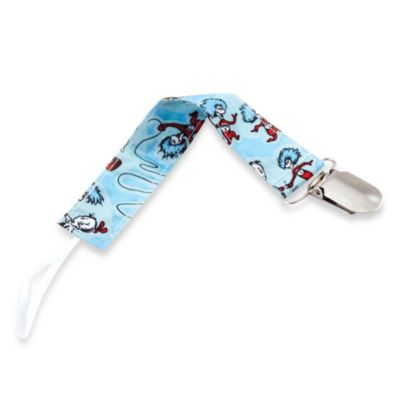 Bumkins® Dr. Seuss™ Cat in the Hat® Pacifier Clip