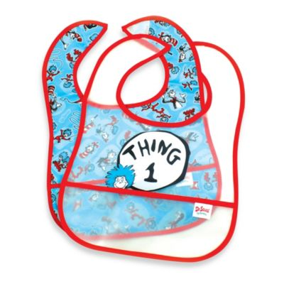 Bumkins® 2-Pack Easy Wipe Bib in Thing 1