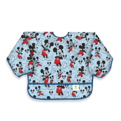 Disney Baby Mickey Mouse Classic Waterproof Long Sleeved Bib from Bumkins®