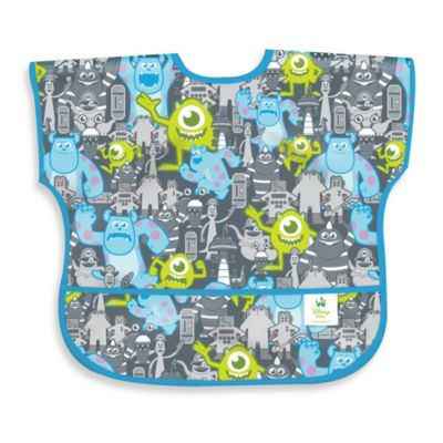 Disney Baby MONSTERS, INC. Grey Waterproof Sleeved Junior Bib from Bumkins®