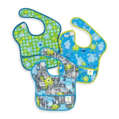 Disney Baby 3-pack MONSTERS, INC. Waterproof SuperBib from Bumkins®