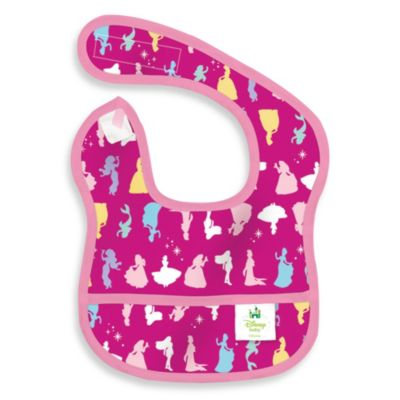 Disney Baby Princesses Pink Starter Bib from Bumkins®