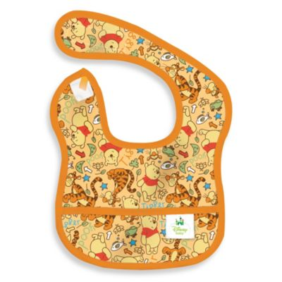 Disney Baby Pooh Orange Starter Bib from Bumkins®