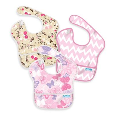 Bumkins® 3-Pack SuperBib in Floral