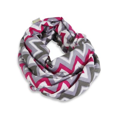 Itzy Ritzy® Nursing Happens™ Infinity Breastfeeding Scarf in Pink