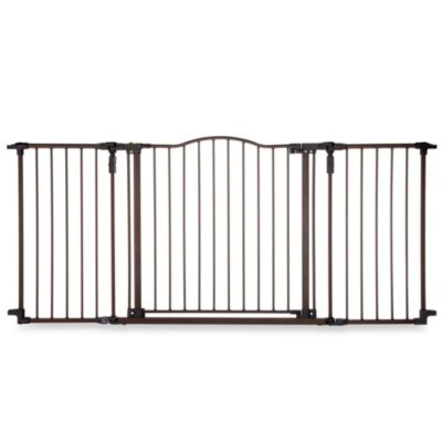 North States Deluxe Decor Gate in Matte Bronze