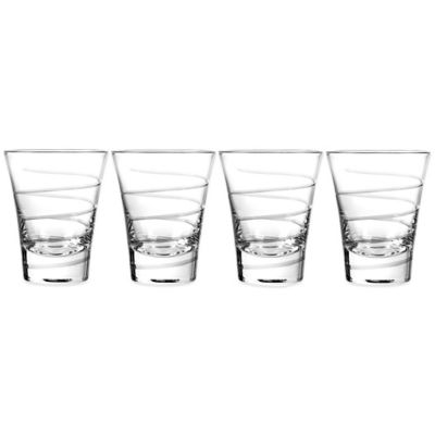 Qualia Vortex Double Old Fashioned Glasses (Set of 4)