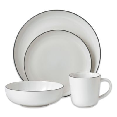 Gordon Ramsay by Royal Doulton Bread Street White 4-Piece Dinnerware Set