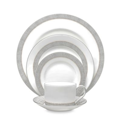 Vera Wang Wedgwood® Gilded Weave 5-Piece Place Setting in Platinum