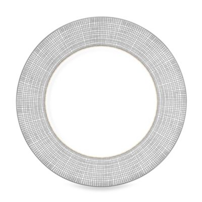 Vera Wang Wedgwood Gilded Weave Accent Salad Plate in Platinum