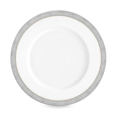 Vera Wang Wedgwood® Gilded Weave Dinner Plate in Platinum