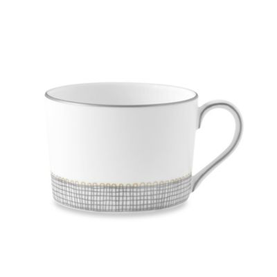 Vera Wang Wedgwood® Gilded Weave Imperial Teacup in Platinum