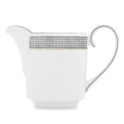 Vera Wang Wedgwood® Gilded Weave Imperial Creamer in Platinum