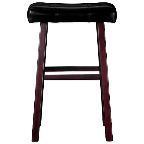 Ampersand Padded Saddle Stool Www Bedbathandbeyond Com