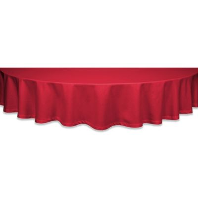 Buy Classique 60 Inch X 84 Inch Tablecloth In Red From Bed