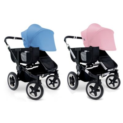 Bugaboo Donkey Extendable Canvas Sun Canopy in Black