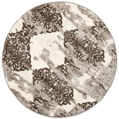 Safavieh Retro Art Afia 6-Foot Round Rug