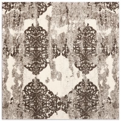 Safavieh Retro Art Afia 6-Foot x 6-Foot Rug