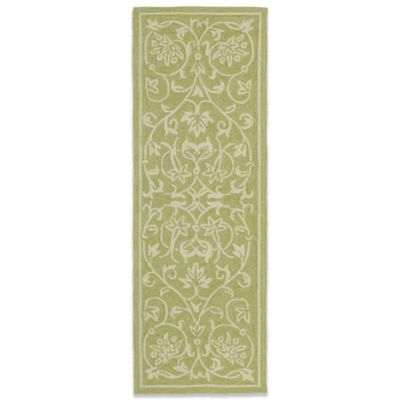 Kaleen Presley 2-Foot x 6-Foot Indoor/Outdoor Rug in Celery