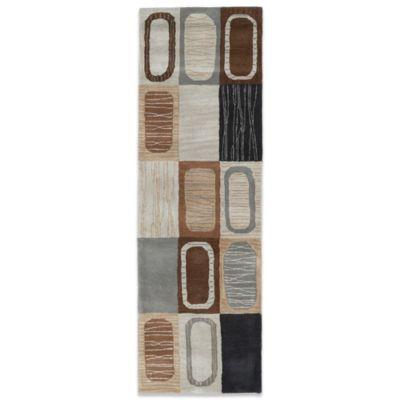 Kaleen Khazana Portals 2-Foot 3-Inch x 7-Foot 6-Inch Rug in Charcoal