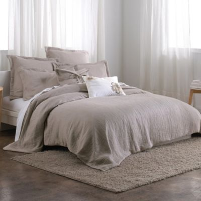DKNYpure Pure Indulge King Duvet Cover in Grey