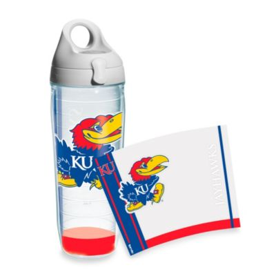 Tervis® University of Kansas 24 oz. Water Bottle with Lid
