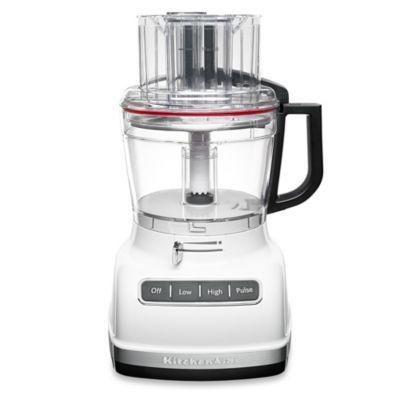 KitchenAid 11-Cup Food Processor in White