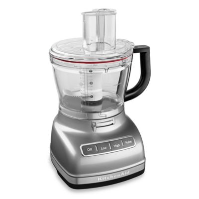 KitchenAid® 14-Cup Food Processor with Dicing Kit in Silver