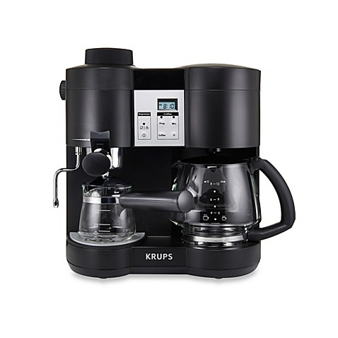 krups combi steam espresso machine bed bath beyond. Black Bedroom Furniture Sets. Home Design Ideas