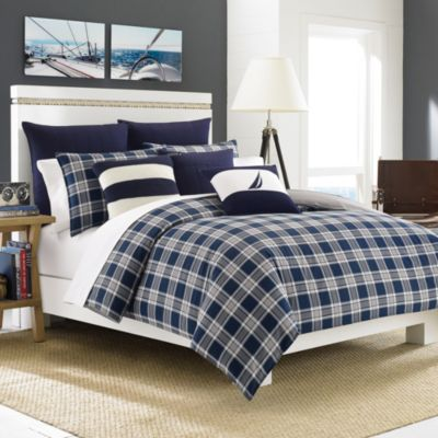 Nautica® Eddington Twin Duvet Cover Set