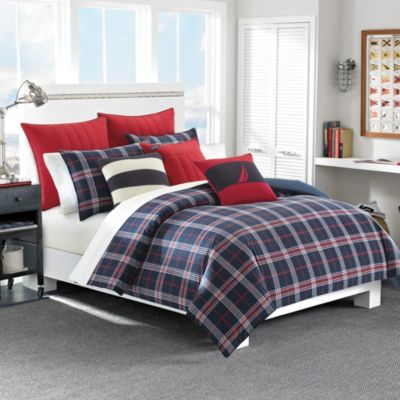 Nautica® Clearbrook Twin Duvet Cover Set