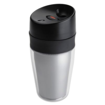 OXO Good Grips Single Serve 9.5 oz. LiquiSeal Travel Mug in Silver