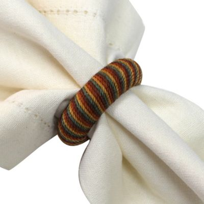 Harvest Twist Napkin Rings (Set of 12)