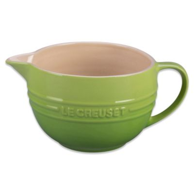 Le Creuset 2-Quart Batter Bowl in Palm Green