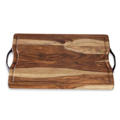 Real Simple® Sheesham Wood Cutting/Serving Board