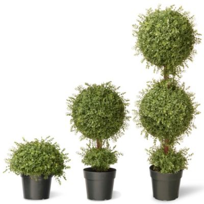 Artificial Decorated Mini Trees