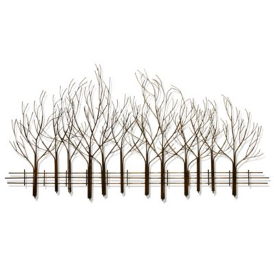B.J. Keith Metal Forest Wall Art
